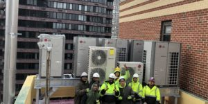 TRV provides HVAC solutions to over 200 apartments.